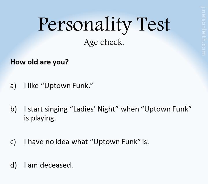 PersonalityTest-UptownFunk