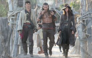 The rule of three in Black Sails