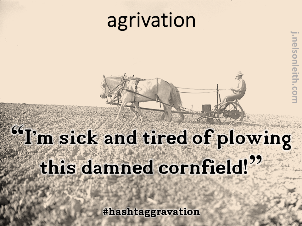 Neologism-Agrivation